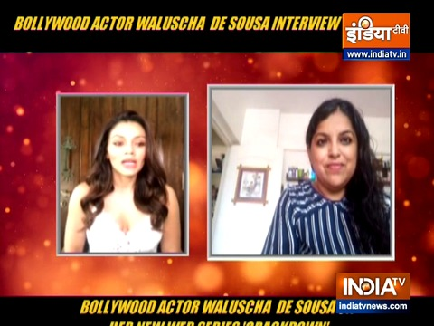 Waluscha De Sousa on her OTT release Crackdown