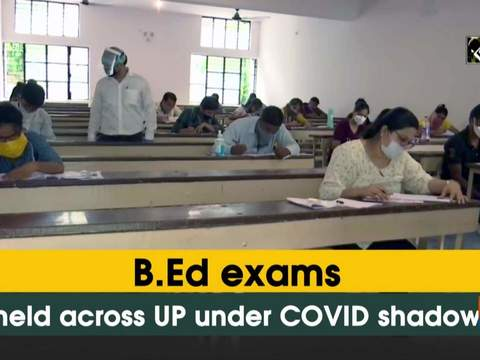 B.Ed exams held across UP under COVID shadow