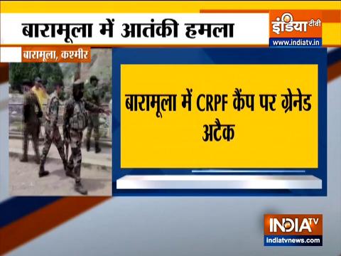 Jammu and Kashmir: Grenade attack at CRPF camp in Baramulla