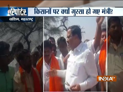 Maharashtra minister Diwakar Raote lashes out at farmers