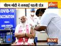 PM Modi takes first dose of COVID-19 vaccine