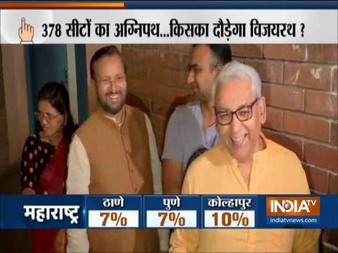 Assembly Polls 2019: Voters turnout is 11% & 6% till 10 am in Haryana & Maharashtra, respectively