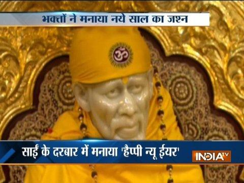 MP CM Shivraj Singh Chouhan visits Shirdi Sai Baba on New Year's eve