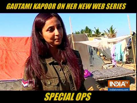 Gautami Kapoor: Special Ops is a fast paced thriller