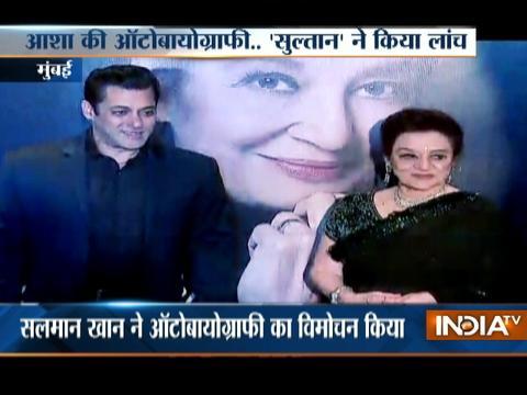 Salman Khan launches Asha Parekh's biography titled 'The Hit Girl'
