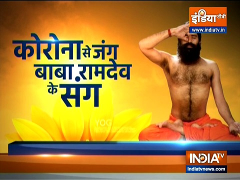Swami Ramdev shares yoga asanas to treat hypertension and heart problems