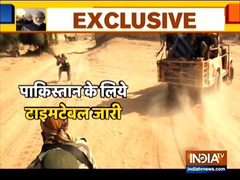 देखिये, पाक सीमा के पास भारतीय सेना के युद्ध अभ्यास पर इंडिया टीवी की ख़ास रिपोर्ट