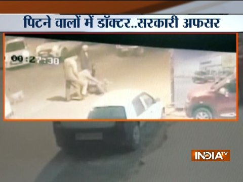 SHO and constables assault govt officials in Delhi (Watch Video)