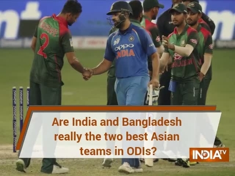 Are India and Bangladesh the best ODI sides in Asia at the moment?