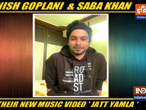 Manish Goplani, Saba Khan talk about their music video 'Jatt Yamla'