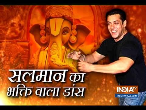 Salman Khan dances his heart out at Arpita Khan's Ganpati Visarjan