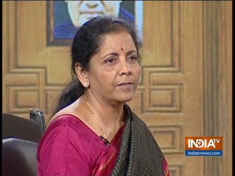 आप की अदालत में रक्षामंत्री निर्मला सीतारमण (2019)