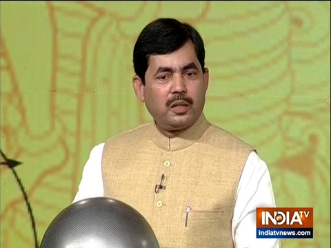 If Muslims are safe anywhere then it is in India: Shahnawaz Hussain
