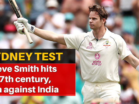 Sydney Test, Day 2: Steve Smith returns to form in style with 27th century