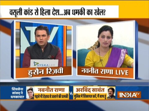 Exclusive | MP Navneet Rana accuses Shiv Sena's Arvind Sawant of threatening her