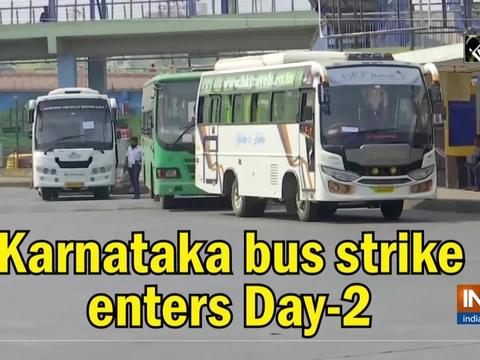 Karnataka bus strike enters Day-2