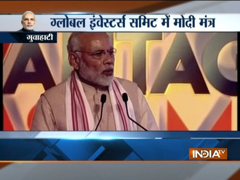 Assam: PM addresses first Global Investors Summit, says Northeast at the heart of Act East Policy