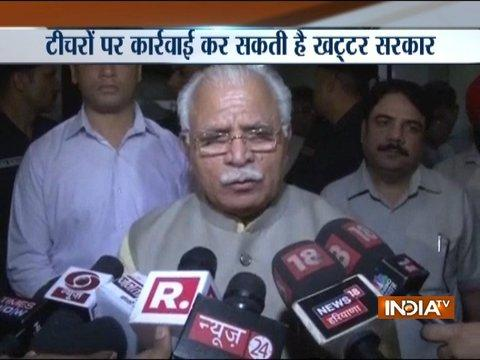 Haryana Teachers to Undergo 'Pujari Training', Says Khattar Govt