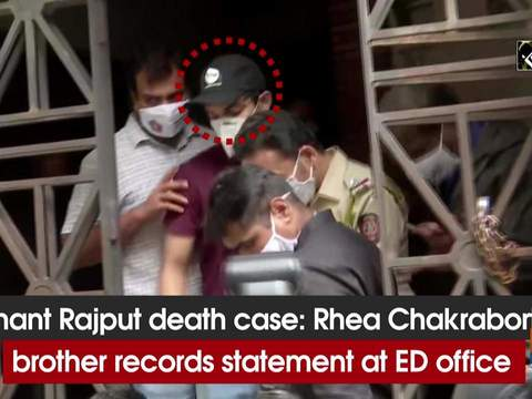 Sushant Rajput death case: Rhea Chakraborty's brother records statement at ED office