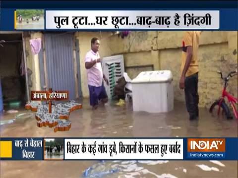 असम, बिहार में बाढ़ की स्थिति बिगड़ती है; लाखों लोग और जानवर प्रभावित