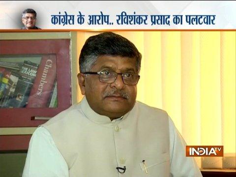 Congress had a close tie-up with Cambridge Analytica, says Union Min. Ravi Shankar Prasad