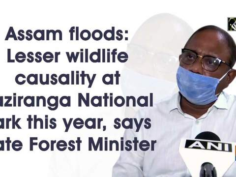 Assam floods: Lesser wildlife causality at Kaziranga National Park this year, says state Forest Minister