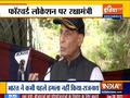Rajnath Singh reviews ground situation in eastern Ladakh visit