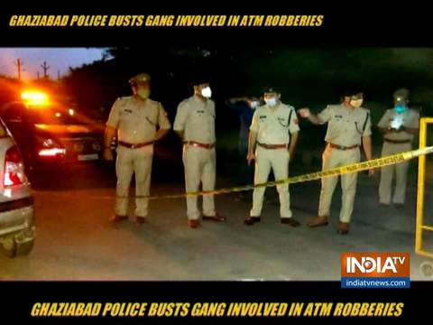 Ghaziabad Police busts a gang involved in ATM robberies