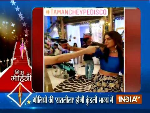 SBAS- Check out 'Tamanche Pe Disco' on the sets of Kundali Bhagya