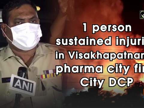 1 person sustained injuries in Visakhapatnam's pharma city fire: City DCP
