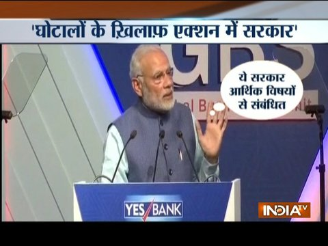 Government taking strict action against financial irregularities, says PM Modi
