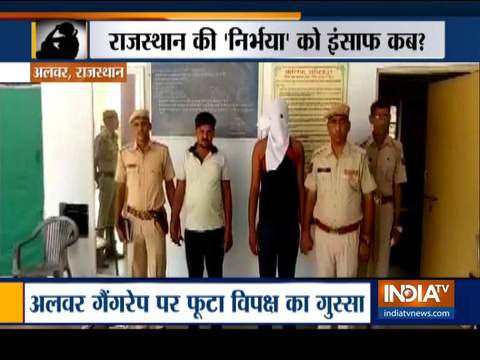 Alwar: Protests erupt over gang-rape case as main accused