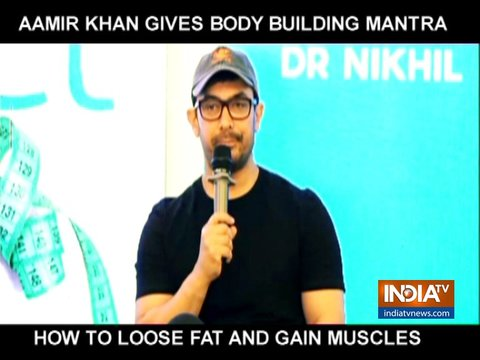 Aamir Khan's secret to losing weight and gaining muscles