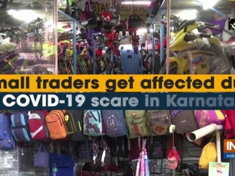 Small traders get affected due to COVID-19 scare in Karnataka
