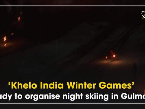 'Khelo India Winter Games' ready to organise night skiing in Gulmarg