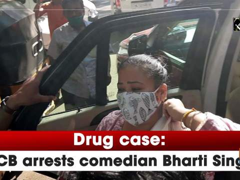 Drug case: NCB arrests comedian Bharti Singh