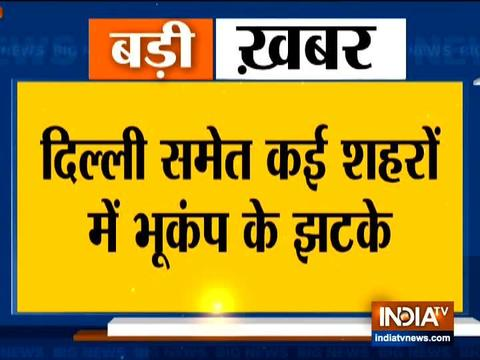 Video: earthquake tremors across Delhi