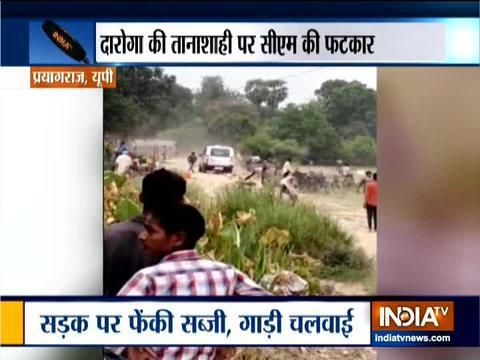 प्रयागराज: स्थानीय सब्जी विक्रेताओं से बदसलूकी के लिए पुलिस अधिकारी निलंबित