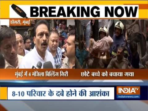 Mumbai building collapse: स्थानीय विधायक ने चेतावनी के बाद भी इमारत को नहीं छोड़ने के लिए निवासियों को दोषी ठहराया