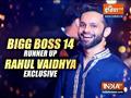 What runner up Rahul Vaidya told IndiaTV about his Bigg Boss 14 journey