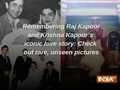 Remembering Raj Kapoor and Krishna Kapoor's iconic love story: Check out rare, unseen pictures