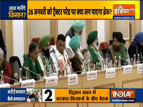 Eleventh round of Centre-farmers talks underway at Vigyan Bhawan