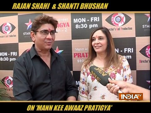 Rajan Shahi and Shanti Bhushan talks about return of Mann Kee Awaaz Pratigya