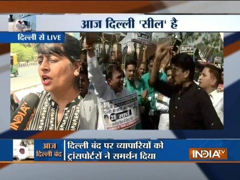 Delhi sealing drive: Traders to hold mega rally at Ramlila Maidan today