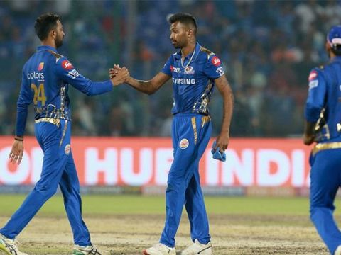 आईपीएल 2019: पांड्या ब्रदर्स और राहुल चहर के धमाकेदार प्रदर्शन से मुंबई ने दिल्ली को हराया