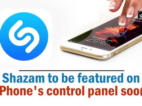 Shazam to be featured on iPhone's control panel soon