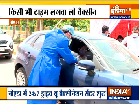 At Noida hospital, 24x7 drive-in vaccine shots from today