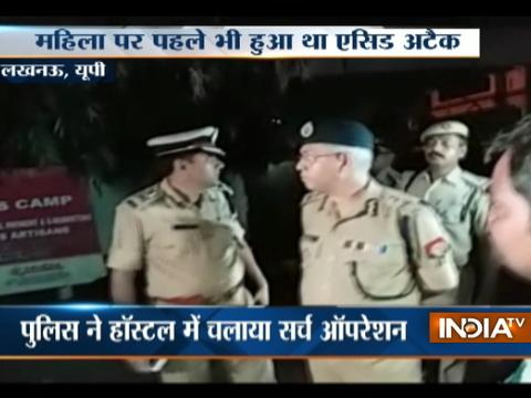 Gang rape victim alleges of being attacked with acid inside hostel in Lucknow