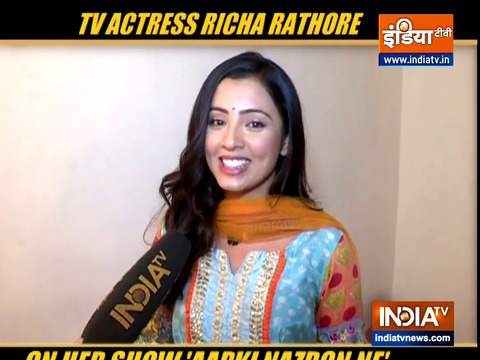 Richa Rathore aka Nandani opens-up on why Darsh is helping her to run away for marriage