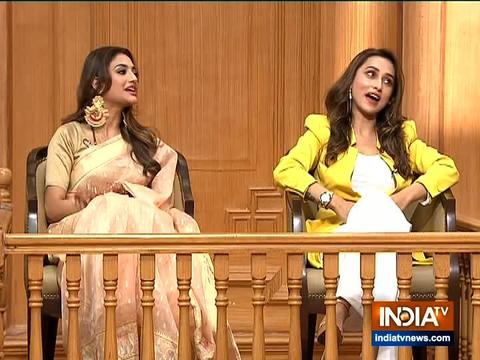 Nusrat Jahan, Mimi Chakraborty in Aap Ki Adalat: Newly-elected MPs open about Mamata being upset over Jai Shri Ram slogans